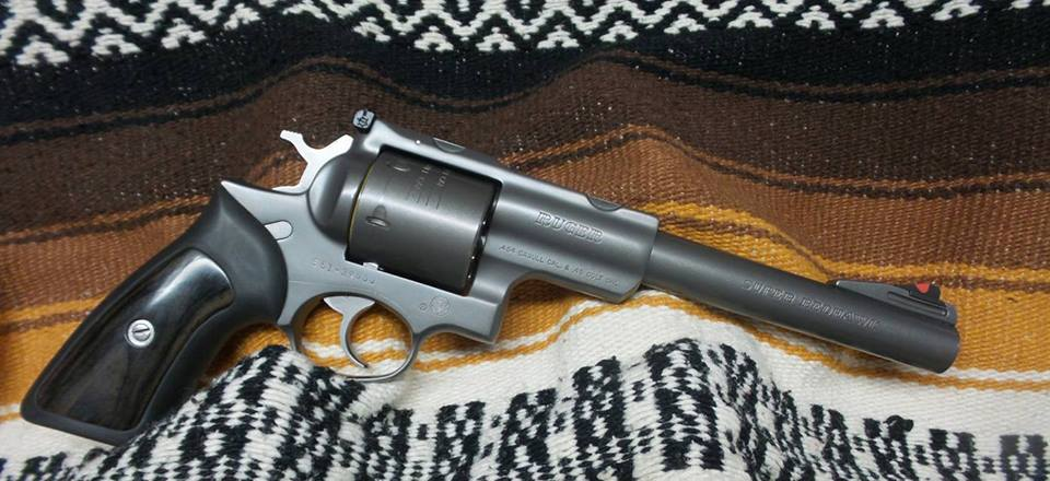 7bMYMVuRf1MXYp2x39Qg_AH 16-1345 UHGP Ruger Super Black Hawk, 45 LC 454 Casull Revolver, Factory Box & Scope. $775 LIKE NEW!
