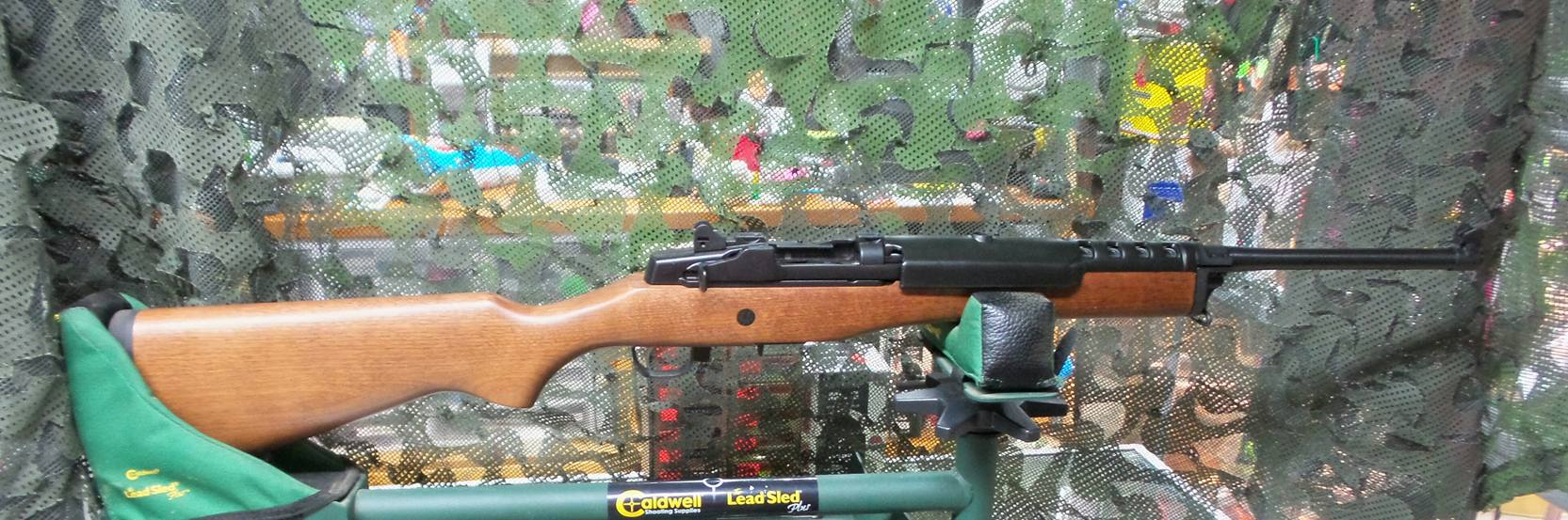 AH 15-1267 ULGP USED Ruger Mini 14 5-1665×553.56 Semiautomatic Rifle $695